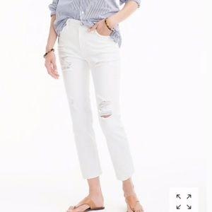 [J. Crew] Vintage Crop Jean